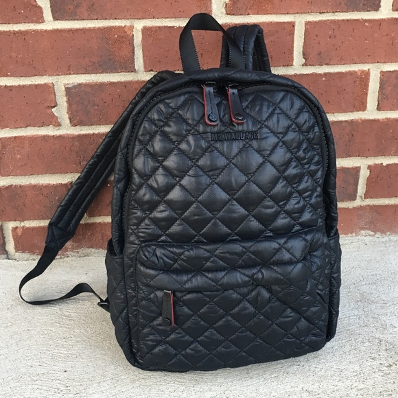 0e419e2099bf MZ Wallace Quilted Oxford Small Metro Backpack. M 5aecf75b3b16087ba0fe6649